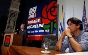 Tabare Vazquez y Rafel Michelini - Congreso del Nuevo Espacio